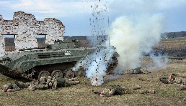 Окупанти обстріляли з артилерії 152 калібру сили АТО під Новотошківським