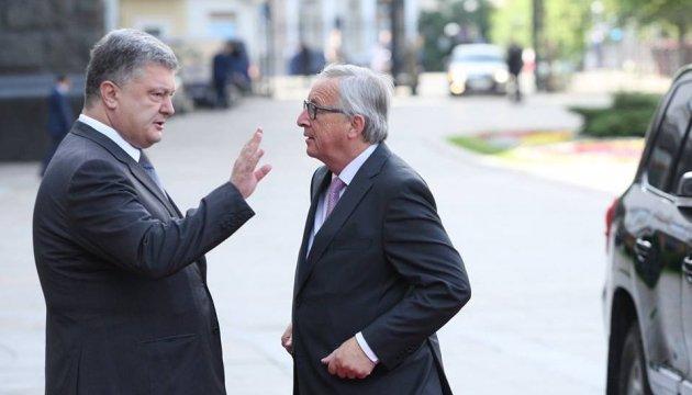 Порошенко обговорив із Юнкером створення Антикорупційного суду