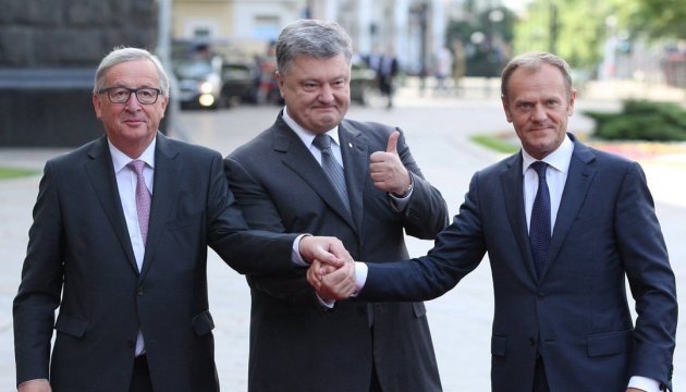Poroschenko: Ukraine-EU-Gipfel wird in Geschichte als Gipfel der Visabefreiung und Assoziation eingehen