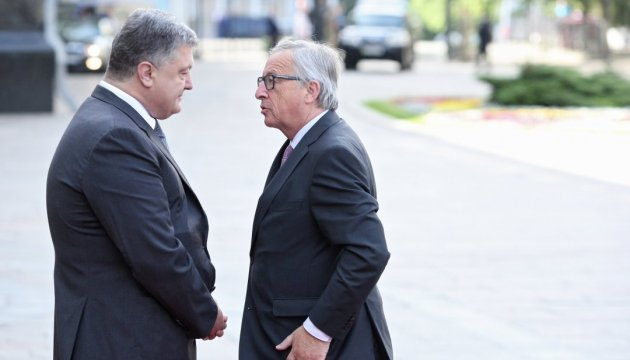 Junker asks Ukraine to intensify fight against corruption