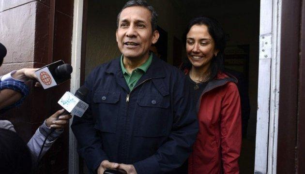 У Перу заарештували екс-президента і його дружину