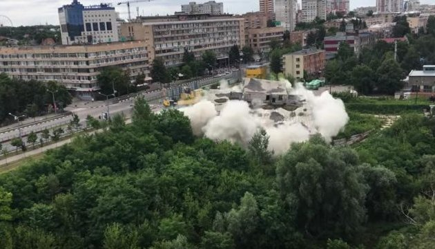 В центре города взорвали пятиэтажку (ВИДЕО)