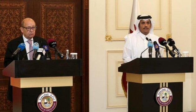 Криза в Перській затоці: Париж закликає зняти санкції з Катару