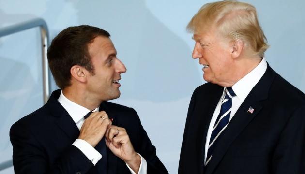 Трамп и Макрон поговорили об Иране и КНДР