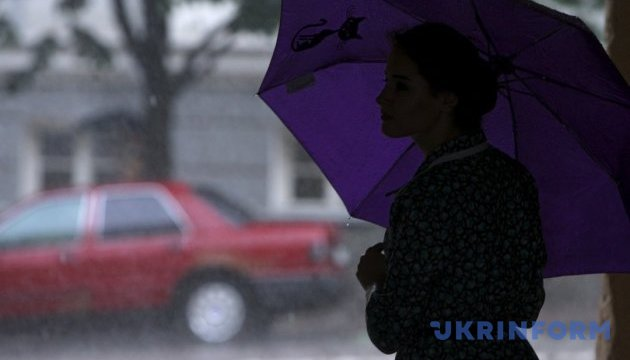 Киевлянам к вечеру обещают дождь