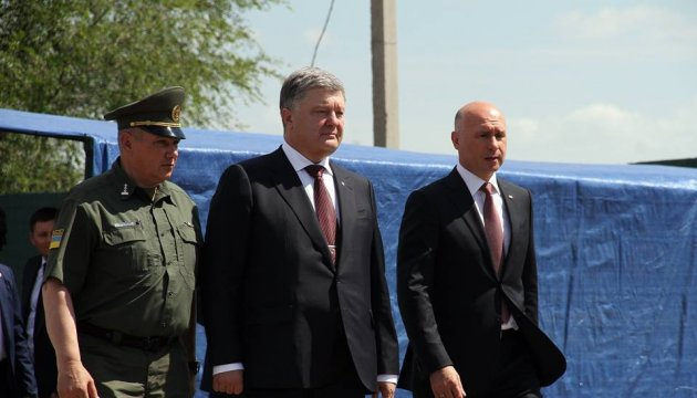 President Poroshenko: Reforms needed to join EU and NATO almost coincide