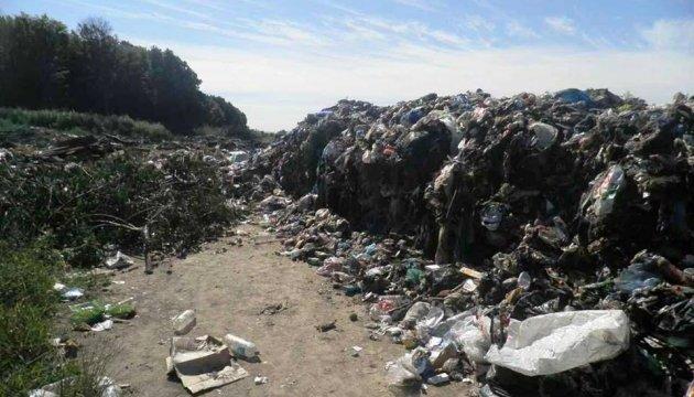 На Київщині знайшли 40 тонн львівського сміття