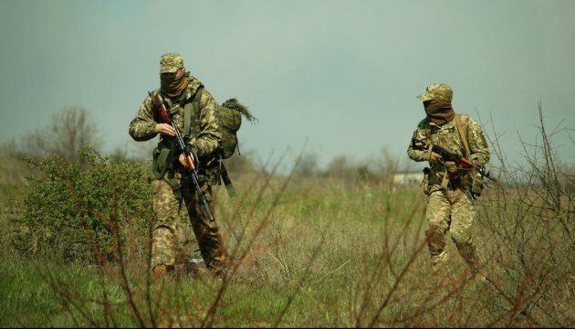 Three Ukrainian soldiers wounded in Donbas over last day