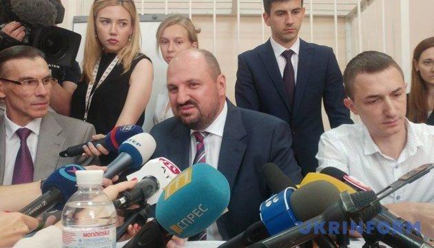 Адвокат просить суд не призначати Розенблату заставу