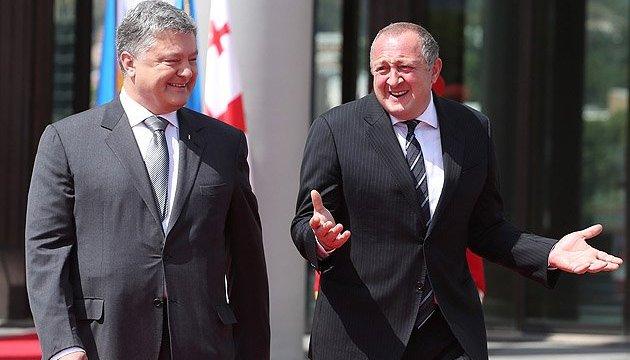 Україна й Грузія мають намір посилити співпрацю задля деокупації