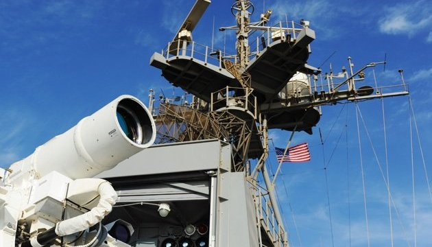 United States tests laser weapons system