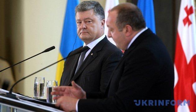 Россия шантажирует Украину абхазским сценарием - Порошенко