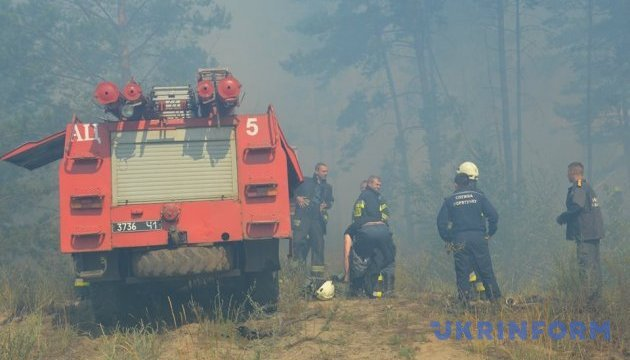 Fire danger remains in eight regions of Ukraine – State Emergency Service