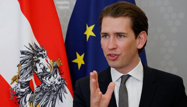 Курц поддерживает введение миротворцев ООН на Донбасс