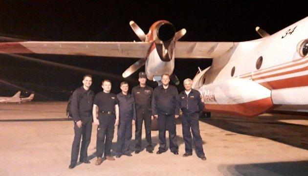 Український літак прибув до Чорногорії для допомоги у гасінні лісових пожеж