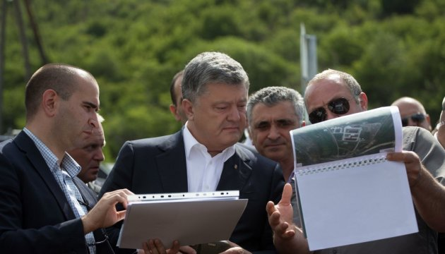 Poroshenko arrived at line of occupation of South Ossetia by Russia – Tsegolko