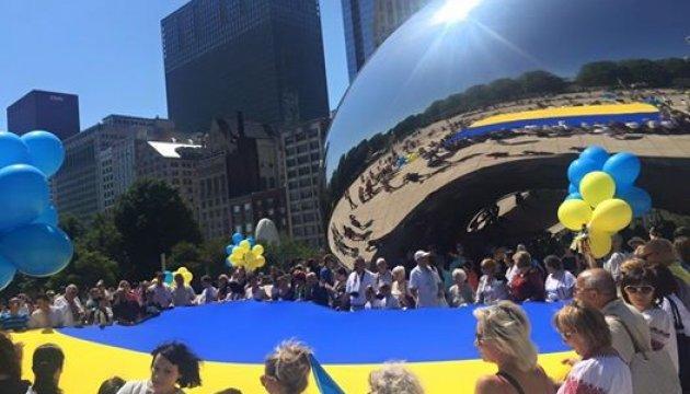 У Чикаго масово заспівають гімн України