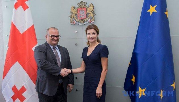 Марина Порошенко ознакомилась с грузинским опытом инклюзивного образования