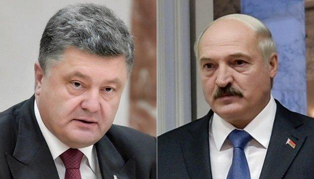 Poroshenko, Lukashenko to hold talks tomorrow