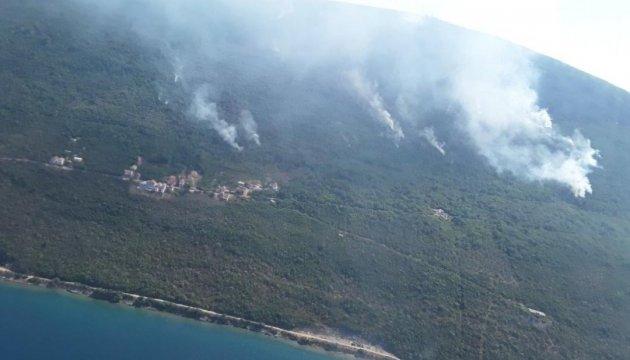 Поляк, що заблукав у лісі в Чорногорії, влаштував масштабну пожежу, аби його помітили