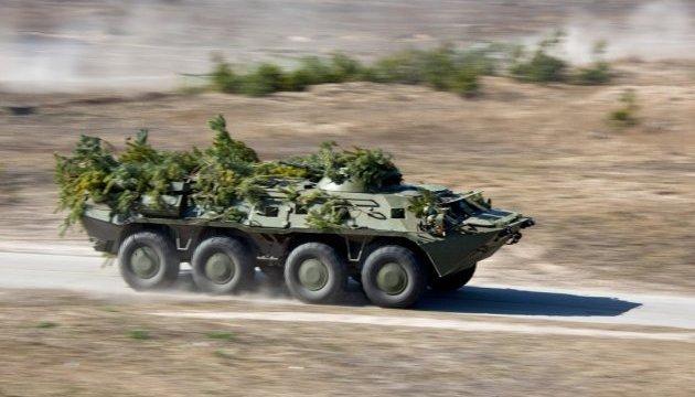 Dans la région de Dnipropetrovsk, huit tankistes ont été blessés lors d'une compétition