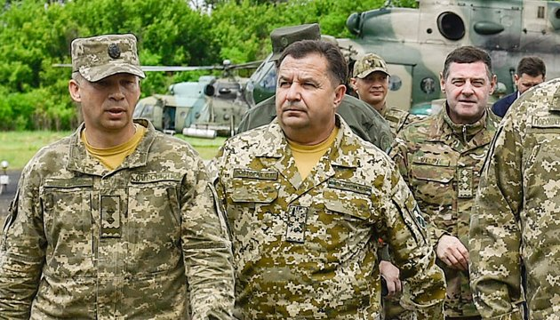 Ukraine expects positive decisions on provision of defensive weapons – Poltorak