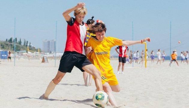 У суботу в Одесі  стартує 1 жіночий чемпіонат України з пляжного футболу