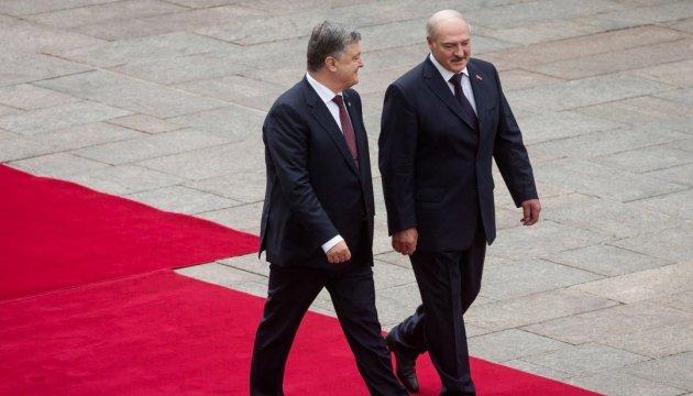 President Poroshenko: Ukraine, Belarus have many projects of common interest