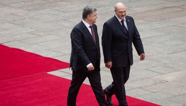 На Банковой подтвердили встречу Порошенко с Лукашенко
