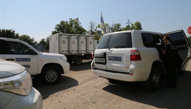 Militants continue blocking access of OSCE observers to occupied Novoazovsk
