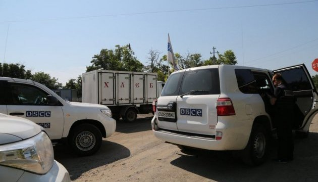 OSCE SMM monitors prevented from entering DPR-controlled Novoazovsk