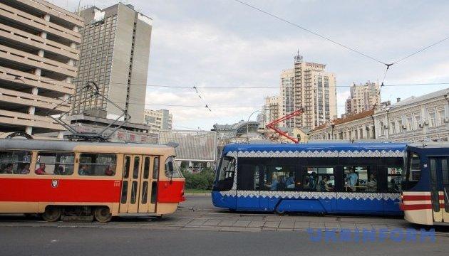 Ремонт Кільцевої змінив маршрути трьох столичних трамваїв