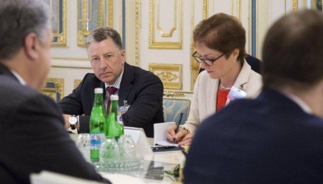 У Краматорськ їдуть посол США Йованович та спецпредставник Волкер