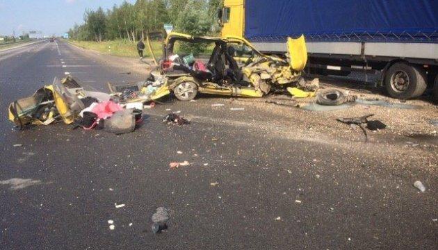 Смертельное ДТП на трассе Киев-Чоп: водитель уснул за рулем