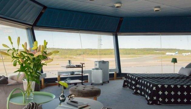 В Стокгольме диспетчерскую вышку превратили в апартаменты для туристов