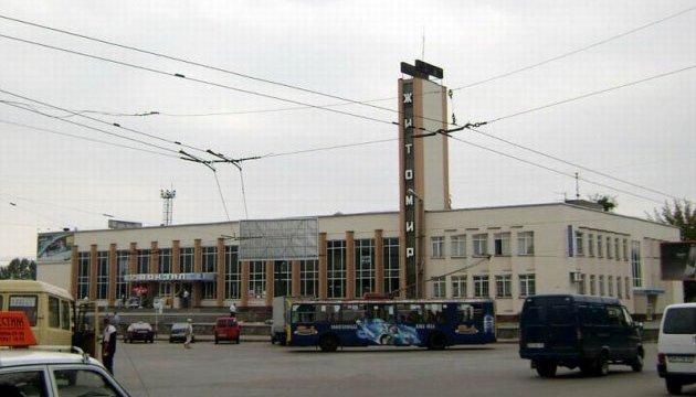 В Житомире останавливали поезда из-за снарядов на путях