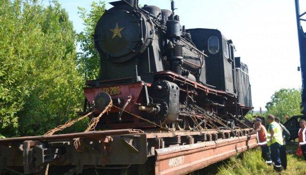 Ретро-паровоз для Боржавской узкоколейки прибыл на Закарпатье