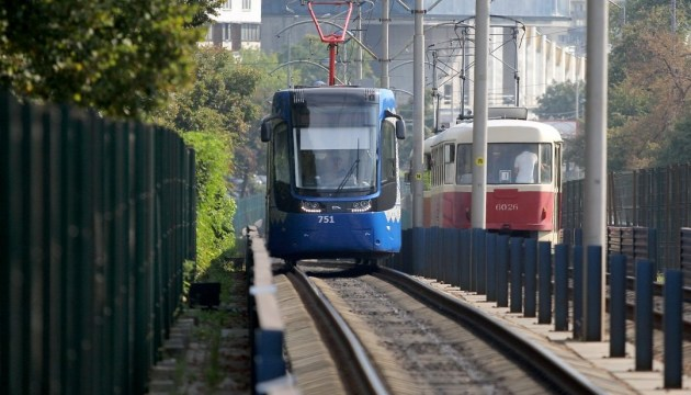 У Києві перейменували зупинку швидкісного трамвая