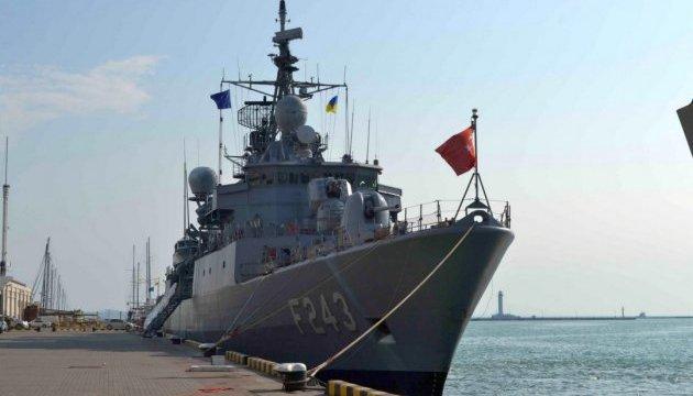Корабли НАТО в Одессе: эсминец и фрегат откроют для всех желающих