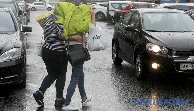 Сьогодні в Україні - холодно та дощі