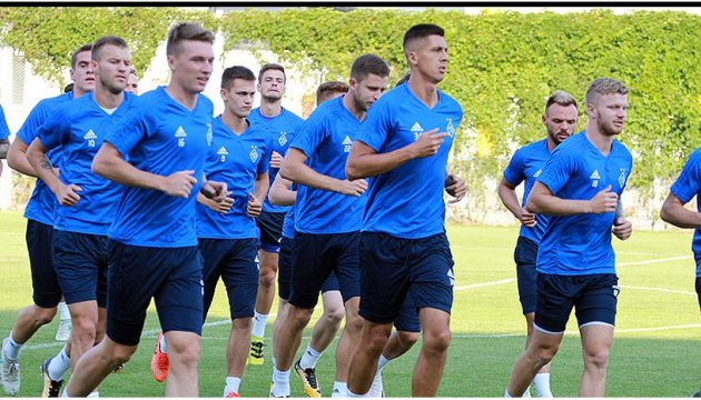 El Dynamo realiza una sesión de entrenamiento previa al partido en Berna