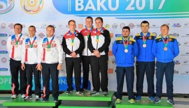 Сборная Украины стала призером чемпионата Европы в скоростной стрельбе
