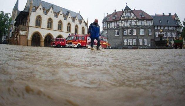 Німеччина через тривалі дощі готується до повеней та евакуації