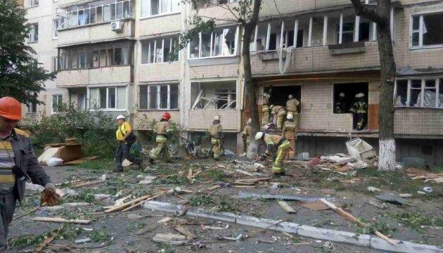 Взрыв в Киеве: под завалами нашли погибшего
