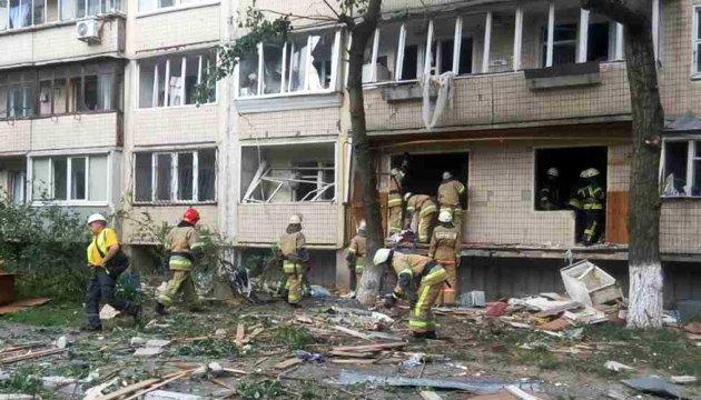 Explosion in Kiew: Leiche in Trümmern gefunden