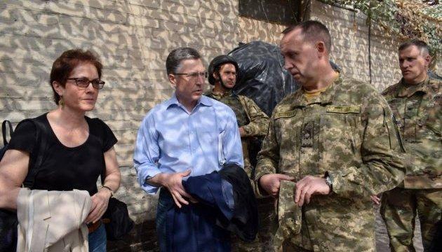 Спецпредставник США: На Донбасі - не заморожений конфлікт, а гаряча війна
