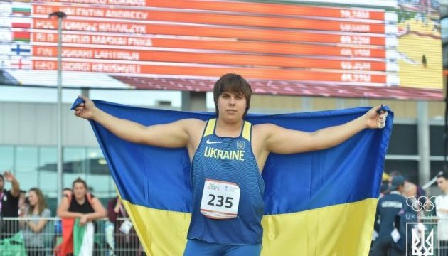 Михаил Кохан принес Украине первое
