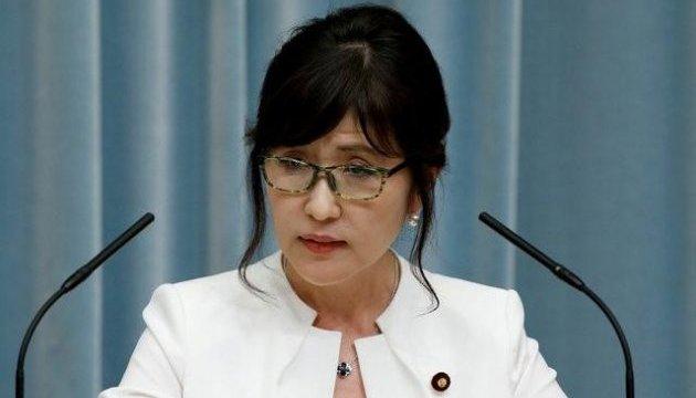 Министр обороны Японии ушла в отставку из-за скандала