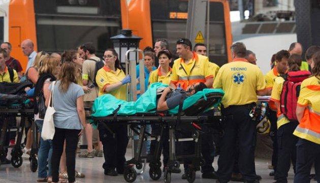 Украинцев среди пострадавших из-за аварии поезда в Барселоне нет - МИД