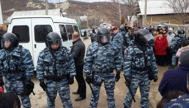 Foreign Ministry expresses strong protest against illegal detentions in Crimea's Bakhchisaray